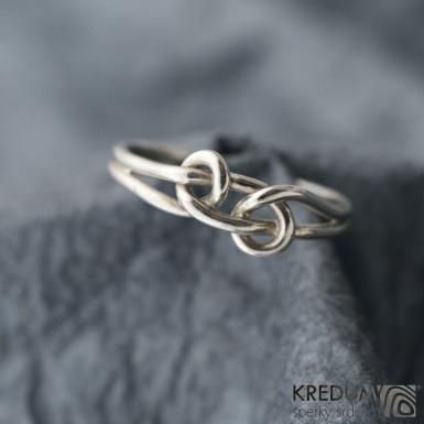 Loop Silver - Stříbrný prsten