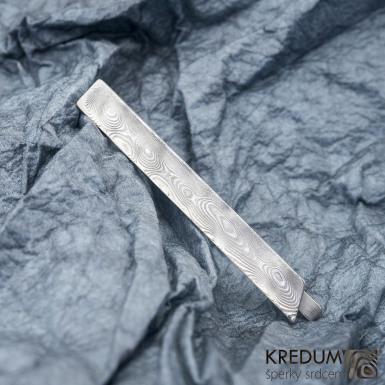 LOPER - Kovaná damasteel spona na kravatu - produkt č. 1005