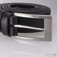 Kovaná nerez spona - Partner 3 - Gird + černý kožený pásek