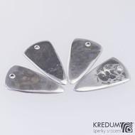 Trsátko ocel nerez kov - Long - rubová (zadní) strana