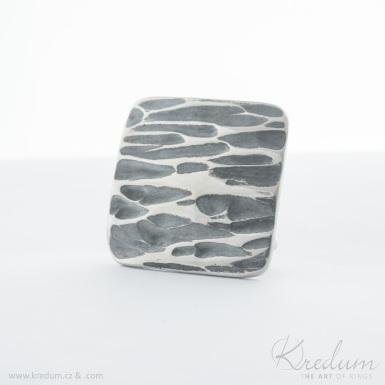 Kovaná nerez spona 3 cm - Kavalír 3X - Kant - SK4108