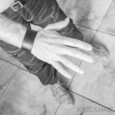 Kožený náramek - Manus 35 hnědý