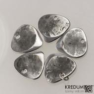 Trsátko ocel nerez kov - Klasik mini - zadní (rubová) strana