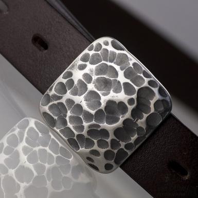 Kovaná nerez spona 3 cm - Kavalír 3X - Draill