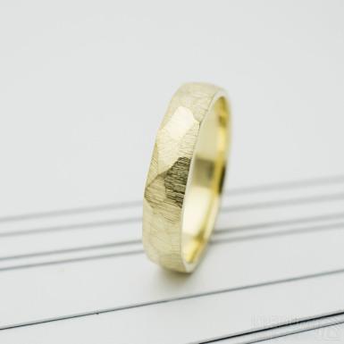 Rock gold yellow - hrubý mat