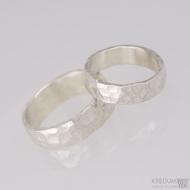 Snubní prsteny Draill silver (2)