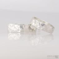 Snubní prsteny Draill silver (3)