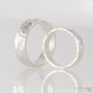 Stříbrné snubní prsteny Draill silver