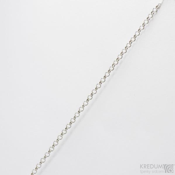 Stříbrný řetízek - Hrášek malý