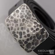 Kovaná nerez spona - Mistr 3,5X - Draill + černý pásek