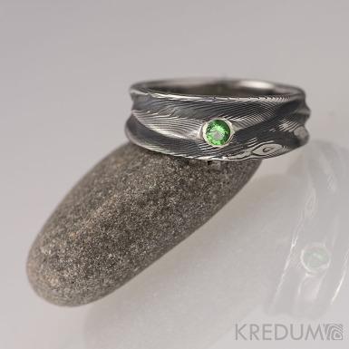Víla vod a kámen ve stříbře do 2mm