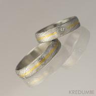 Ilustrační foto - Golden line, voda s diamantem 1,5 mm, 75% světlý