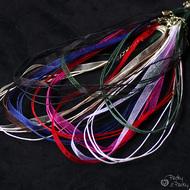 Kombinovaná textilní šňůrka se zapínáním - ostatní barvy