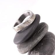 Kovaný nerezový snubní prsten - FOREVER Draill