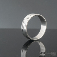 Betula - 65 6,9 1,3 - Nerez snubní prsten sk1305 (4)