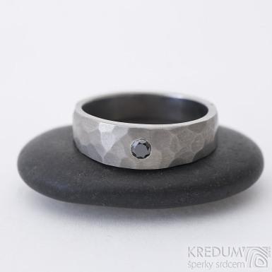 Draill titan Glanc a černý diamant 2,7 mm - 54, hlavy 6 mm, do dlaně 4,5 mm, tloušťka hlavy 2,5 mm do dlaně 1,5 mm, mat - k 2457 (2)