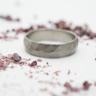 Draill titan matný - velikost 58, šířka 5 mm - Titanový snubní prsten