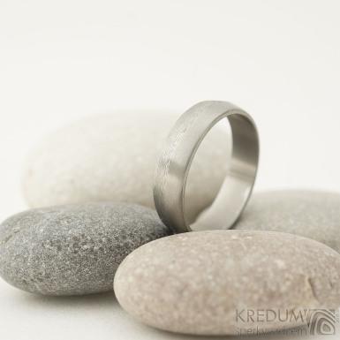 Fici titan - velikost 57, šířka 5 mm, povrch matný - hrubě matný - Titanový prsten - sk2222 (3)