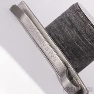 Rytí nápisů do šperků řízeno počítačem - šrafované - font