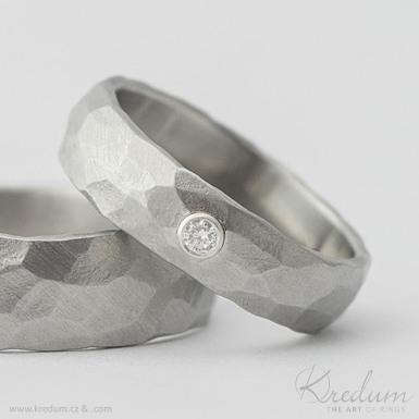 Stříbrné lůžko pro osazení kamene - příplatek
