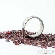 Klasik draill - velikost 52, šířka 6 mm, lesklý -Nerezové snubní prsteny - k 1537