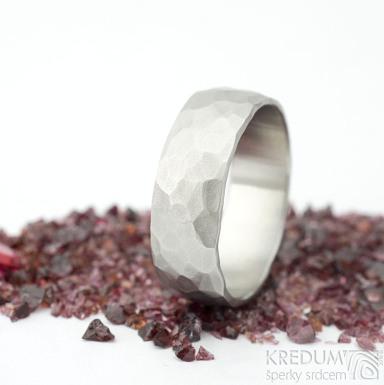 Klasik draill - velikost 71, šířka mm, matný -Nerezové snubní prsteny - k 1537 (2)