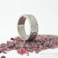Klasik marro titan - velikost 56, šířka 7 mm - Snubní prsteny z titanu - k 1860