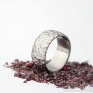 Klasik Marro titan - velikost U, šířka 10 mm - Titanové snubní prsteny - et 1771