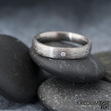 Klasik ttian hrubý mat a diamant 1,5 mm - velikost 56, šířka 3,5 mm, tloušťka STŘ, profil E - k 1182 (5)