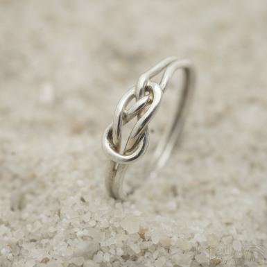 Škotový uzel Silver - Stříbrný prsten