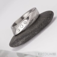 lusk damasteel zásbnuní prsten