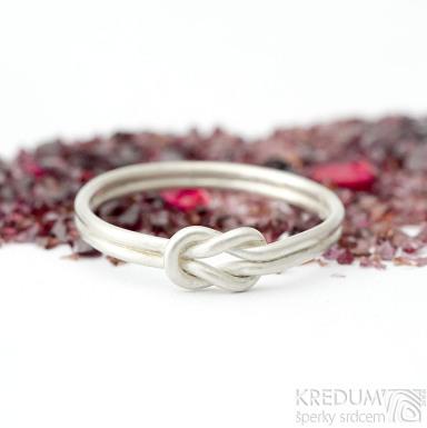 Marge Silver - velikost 65 - Stříbrné snubní prsteny- K 1720 (2)