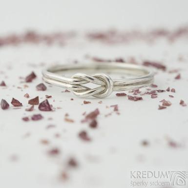 Marge Silver - velikost 68 - Stříbrný snubní prsten - produkt SK2325