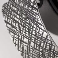 Kovaná nerez spona - Mistr 3X - Mřížka