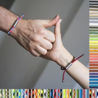 Náramek Riana - další variaty barev paracordu