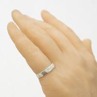 natura snubní prsten stříbro (1)