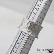 Nerezový prsten Rafael BG s2238