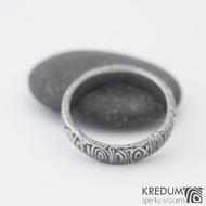 Prima - 57,5 4,7 1,3 B 75% TM- Damasteel snubní prsteny s993 (2)