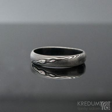 Prima DLC - 52 3,8 - do dlaně 3 A - Damasteel snubní prsteny SK1180 (4)