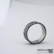 Prima kolečka - 74,5 8,8 2,2 C 100% zatmavené - Damasteel snubní prsteny SK1281 (2)