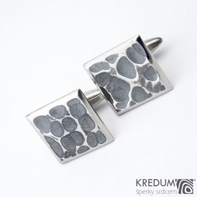 Quatro dent black - Manžetové knoflíčky, produkt SK1258