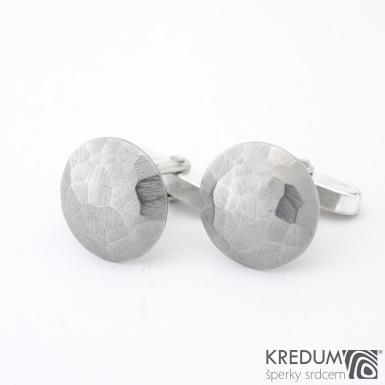 Manžetové knoflíčky - Round scrape