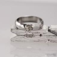 Skalák a ozdoba - Nerezový snubní prsten, S1559