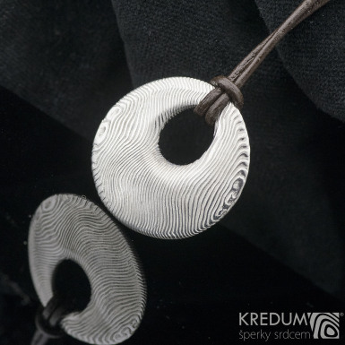 Kovaný damasteel přívěsek - Vizia, produkt č. 2143