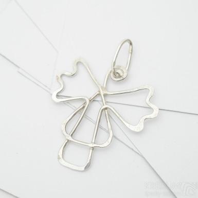 Anděl - Stříbrný přívěsek, SK3381