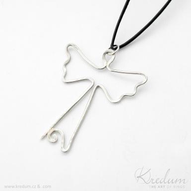 Anděl - stříbrný přívěsek - SK4368