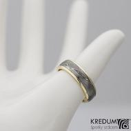 snubní prsten kasiopea zlato damasteel s2210 (2)