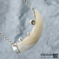 Sus scrofa - Přívěsek s kančím zubem, SK1532