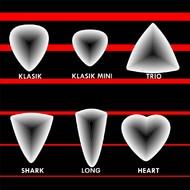 Typy (tvary) trsátek