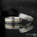 snubní prsteny duori prima moissanit do zlata k 0253 (4)